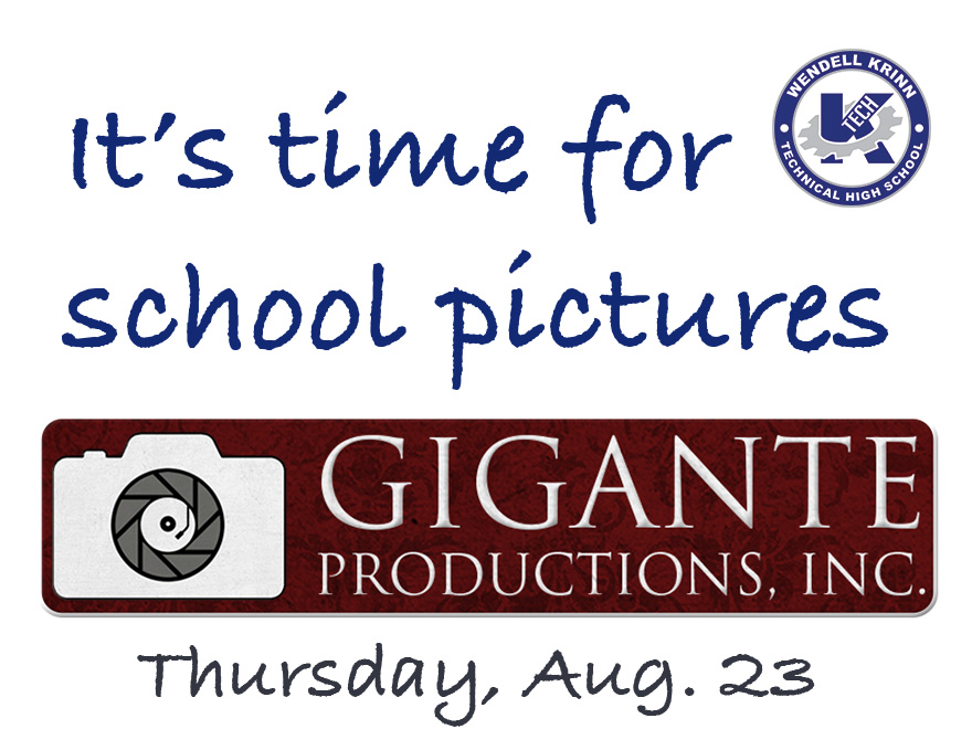 It's Time for School Pictures!