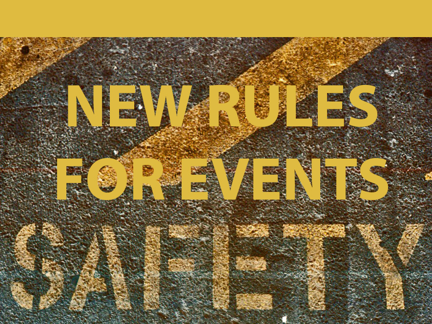 *NEW* School Event Safety Rules