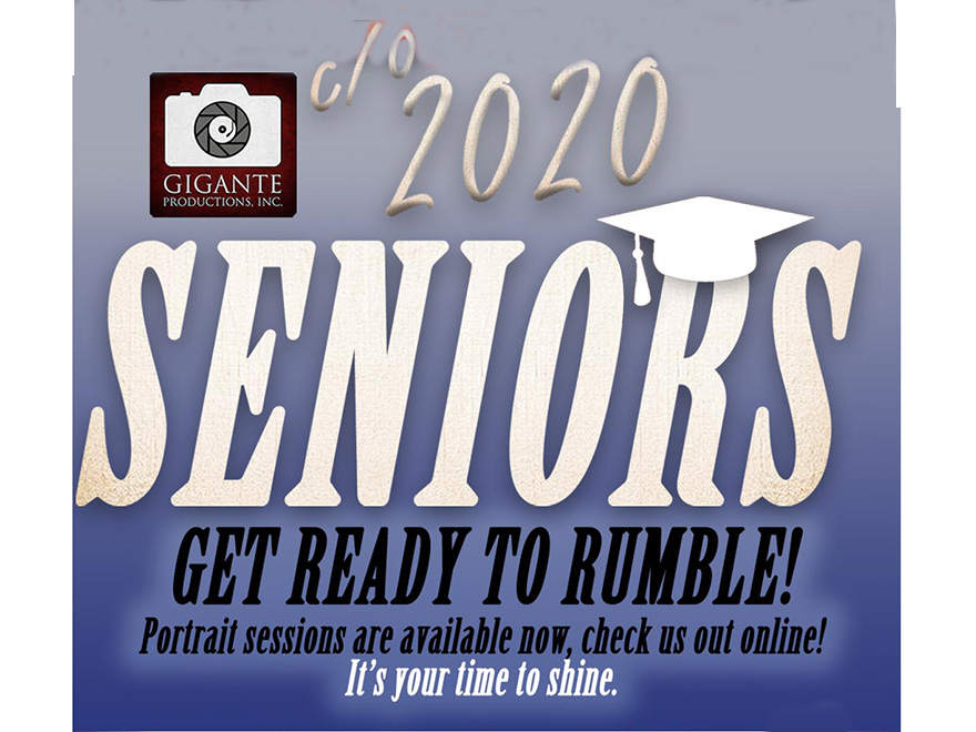 Class of 2020, It's Time to Schedule Your Senior Portraits