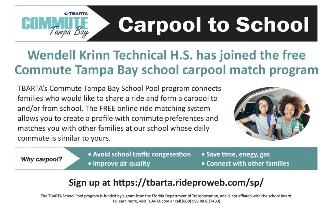 """KTech is Now Part of TBARTA's """"School Pool"""" Program"""