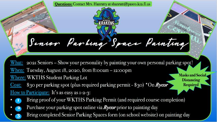 Purchasing a Senior Parking Spot