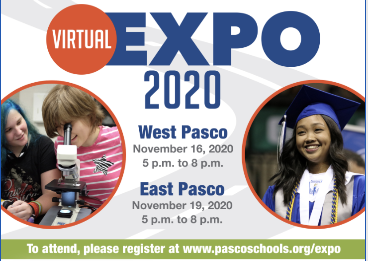 Virtual Pasco Pathways, Nov. 16 & 19