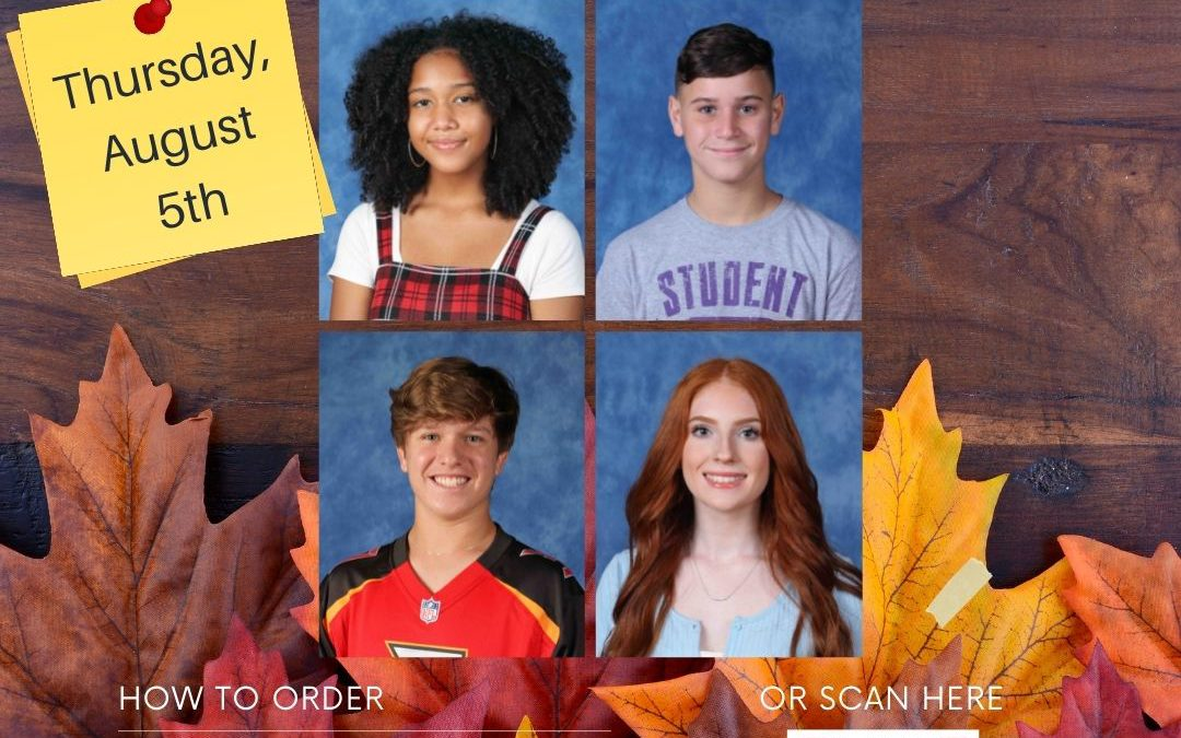 School Pictures Make-Up Day September 9th