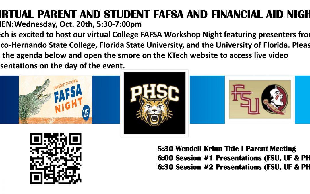 College Financial Aid Night
